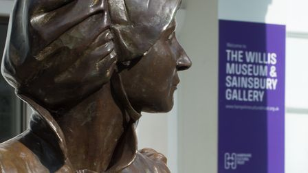 The life size bronze of the author Jane Austen was commissioned by the Hampshire Cultural Trust, sta