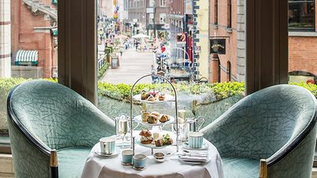 Afternoon tea at The Westbury