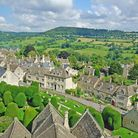 An aerial view of Painswick (c) Peter Llewellyn / Getty Images