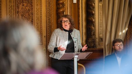 Consultant solicitor Kym Fletcher of Willans LLP speaking at the seminar (c) Clint Randall / Pixel P