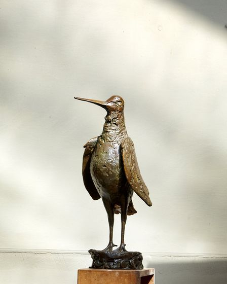 John's work spans the small, such as this characterful bird, to the monumental - all have a striking