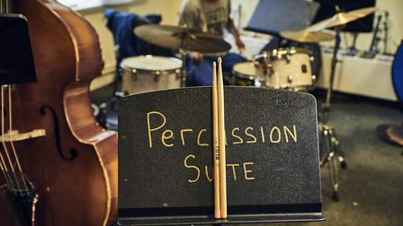 Purcell School percussion suite (photo: Purcell School)