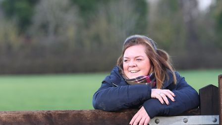 Katie Hall, the National Vice Chair of the Young Farmers
