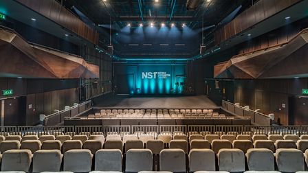 The new auditorium at NST City can seat 450 people (Photo by Stefan Venter)