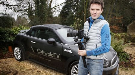 Tom Wakefield of Cotswold TV video production company.