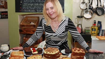 Lynda Price at her Green Room plant-based eatery Warrington people