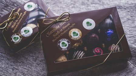 Chocolate Heaven's winning flavours are a celebration of local ingredients