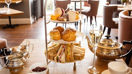 Afternoon tea at The Cottage in the Wood, Malvern (c) Paul Ligas Photography