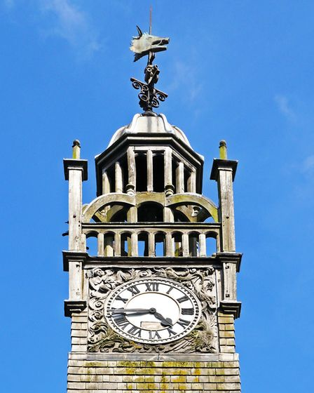 Redesdale Hall decorative clock tower, Moreton-in-Marsh (c) CaronB Getty Images/iStockphoto