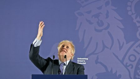 British Prime Minister Boris Johnson outlines his government's negotiating stance with the European