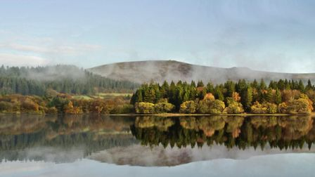 It's easy to see why Burrator Reservoir, near Yelverton, is a popular spot: