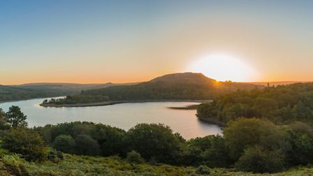 It's easy to see why Burrator Reservoir, near Yelverton, is a popular spot