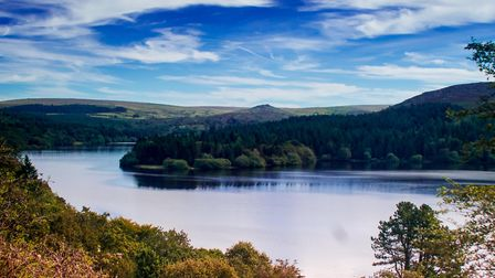 Its easy to see why Burrator Reservoir, near Yelverton, is a popular spot