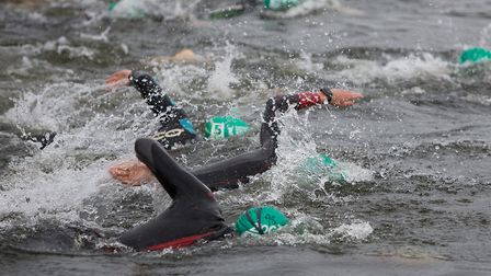 The Dartmoor Open Water Swim takes place at Roadford Lake: