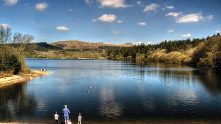 Its easy to see why Burrator Reservoir, near Yelverton, is a popular spot: