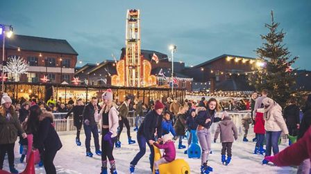 Christmas celebrations at Gloucester Quays