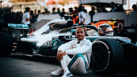 Lewis Hamilton after winning the 2018 Japanese Grand Prix (photo: Paul Ripke for Mercedes-Benz Grand