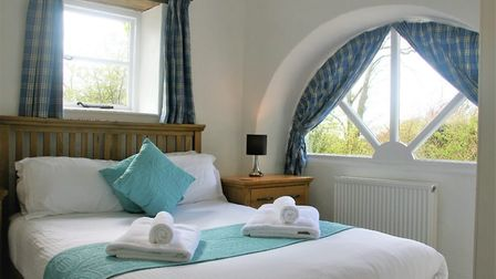 Enjoy the stylish interiors and the oh so comfortable beds