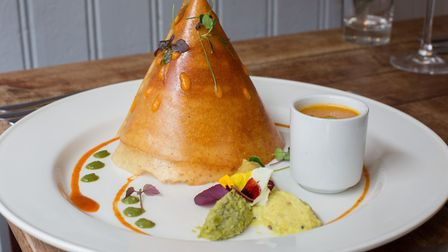 House speciality dosai served in a dramatic pyramid shape (photo: Manu Palomeque)