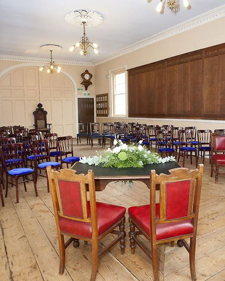 You can now get married in the Council Chamber at Faversham Guildhall (photo: Suzanne J Garland)