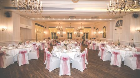 Hythe Imperial Hotel's Ballroom is perfect for larger weddings