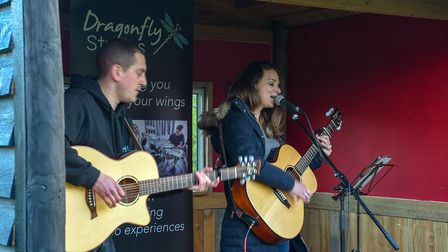 Live music at Priory Park with Dragonfly Studios (Photo by Andy Newbold)