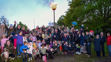 Celebrating the first ever Surrey Day (Photo by Andy Newbold)