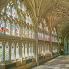 Cloisters among Gloucester Cathedral (c) A G Baxter / Shutterstock