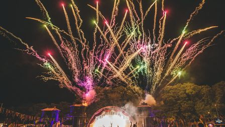 A fireworks finale for Neverworld in Hever