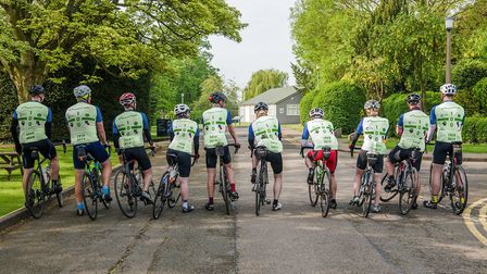 One hundred members of GCHQ staff took part in the charity cycle event