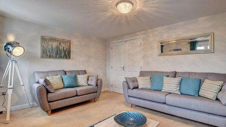Sitting Room at Great Field View