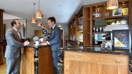 Oliver McCarron chats to Olly Seymour at SQ Bar and Restaurant