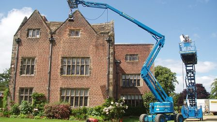 Filming Fresh Meat at Peover Hall