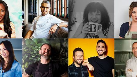 The line-up of celebrity chefs at Carfest North