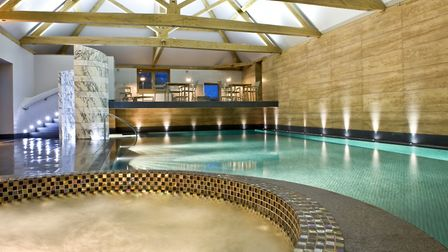 The pool at Park House Hotel and Spa (Photo by Matt Sills)
