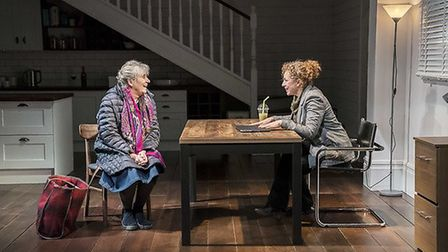 Margot Leicester and Alex Kingston, Admissions Credit: Johan Persson