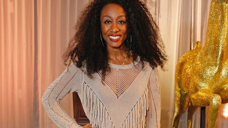 Beverley Knight attends Centrepoint's annual Ultimate Pub Quiz at St Mary's Church, London, on April