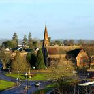 The church of St John the Evangelist which opened in 1863 is a short distance from the town centre