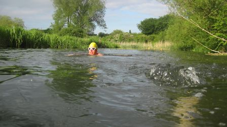 Rory found his love for wild swimming later in life