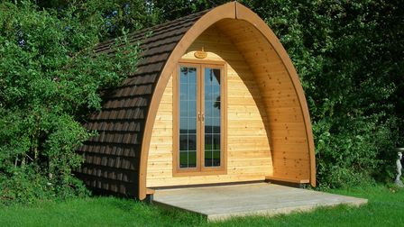 Two Hoots Glamping Pod