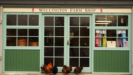 Wellington Farm Shop by Alexander Baxevanis under CC BY-NC-ND 2.0 licence (creativecommons.org/licen
