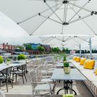 The roof terrace of Parade