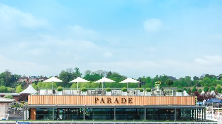 The track site setting of Parade is situated right by the winning line at Chester Racecourse
