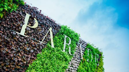 The living wall exterior of Parade