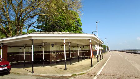 The shelter at Vale Park