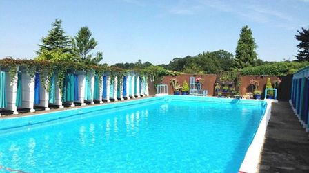 Kimpton Lido is the UK's only family owned, public membership open-air pool
