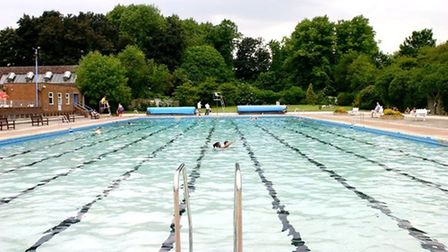 Letchworth Outdoor Pool opened in 1953