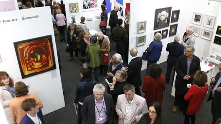 The art fair is proving to even more popular.
