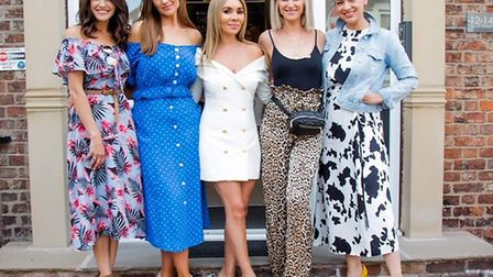Natalie Anderson, Cath Tyldesley, Dr Jonquille Chantrey, Sarah Jayne Dunn and Sophie Austin