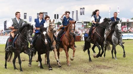 A whole programme of equestrian events are planned over the two days